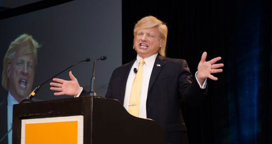 Donald Trump Impersonator
